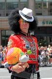 Fierté mars de NYC le 28 juin 2009 Photos stock