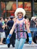 Fierté mars de NYC le 28 juin 2009 Photographie stock libre de droits