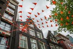 Fierté orange Photo libre de droits