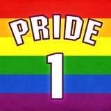 Fierté homosexuelle Photographie stock