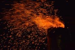 fiery стоковая фотография