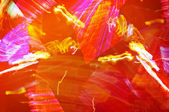 Fiery abstraction - graphic orange background Royalty Free Stock Photography