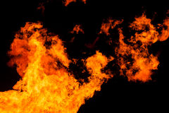Fiery background Stock Photo