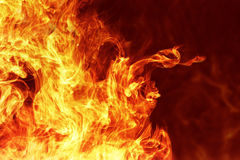 Fiery background Royalty Free Stock Image