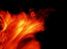 Fiery background Royalty Free Stock Photo