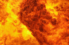 Fiery Background Stock Photography