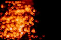 Fiery Circles Abstract Background Orange and Black stock photos