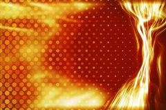 Fiery energy light beam background Royalty Free Stock Photos