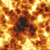 Fiery explosion Royalty Free Stock Image