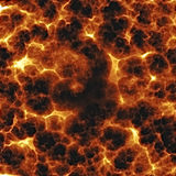Fiery explosion. Rendererd illustration of fiery explosion and flames texture Royalty Free Stock Images