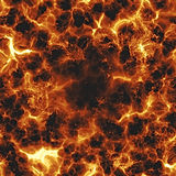 Fiery explosion Stock Images