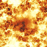 Fiery Explosion Royalty Free Stock Photography
