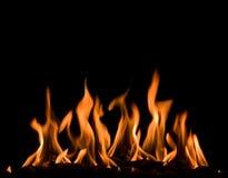 Fiery fire Stock Photo