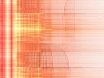 Fiery fractal line pattern. Digital artwork for creative graphic design Royalty Free Stock Photography