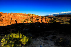Fiery Furnace Arches National Park Royalty Free Stock Photos