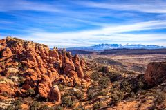 Fiery Furnace Viewpoint royalty free stock images