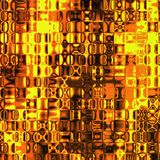 Fiery glass tiles Stock Images