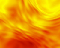 Fiery Glow. Abstract background in fiery yellow and orange Stock Image