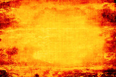 Fiery Grunge Background Royalty Free Stock Image
