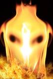 Fiery horse Stock Photography