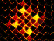 Fiery lava abstract background Royalty Free Stock Photos