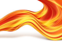 Fiery lines Royalty Free Stock Photo