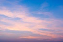 Fiery orange sunrise sky. Beautiful sky Royalty Free Stock Image