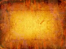 Fiery paper. Art paper, abstract background, the manuscript on fire Royalty Free Stock Photography