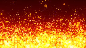 Fiery Particles Background Royalty Free Stock Images