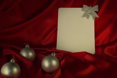 Fiery-red background for congratulations on Christmas and New Ye Royalty Free Stock Image