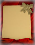 Fiery-red background for congratulations on Christmas and New Ye Royalty Free Stock Images
