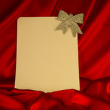 Fiery-red background for congratulations on Christmas and New Ye Stock Photos