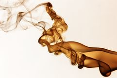 Fiery smoke Stock Photography