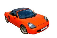 Fiery sports car Stock Photos