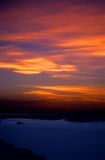 Fiery Sunset over Lake Titicaca Peru - 2 Stock Photos