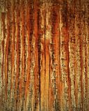 Fiery tinted wooden board Royalty Free Stock Photography