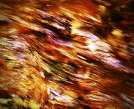 Fiery water texture Stock Image