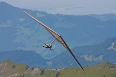 Fiesh Open-2011 hang gliding competitions Royalty Free Stock Photos