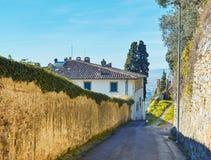 Fiesole κοντά στη Φλωρεντία, Τοσκάνη Στοκ φωτογραφίες με δικαίωμα ελεύθερης χρήσης
