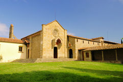 Fiesole Convento di San Francesco arkivfoton