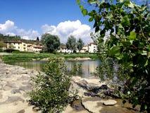 Fiesole Italien, Florence Royaltyfria Bilder