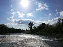 Fiesole Italien, vatten Arkivfoto