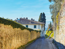 Fiesole near Florence, Tuscany. Royalty Free Stock Photos