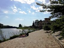Fiesole, plaży miejsce zdjęcie stock