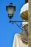 Fiesole street lamp Royalty Free Stock Images