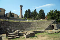 Fiesole, Toskana, Italien Stockfotografie