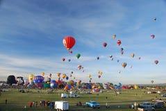 fiesta balonowy zawody międzynarodowe Obrazy Stock