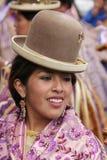 Fiesta boliviana Foto de archivo libre de regalías