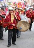 Fiesta boliviana Imagen de archivo