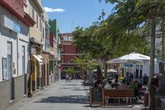 Fiesta in Candelaria Stock Image